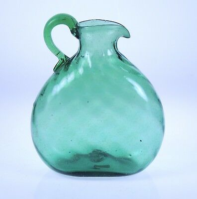 Unique Clevenger Brothers Windowsill Jug South Jersey glass 1930-40s