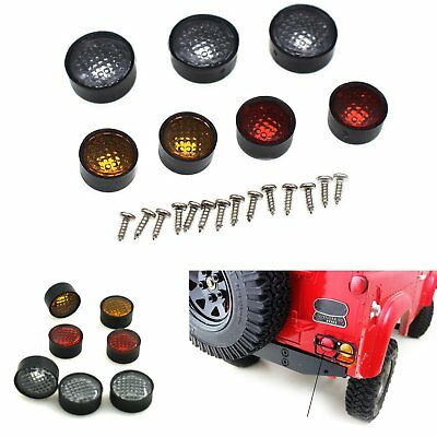 Lampe Round Lamp Cups Lampshade für 1:10 D90 3mm LED Lights RC Rock Crawler Auto
