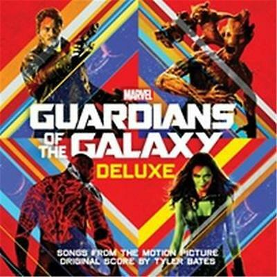 GUARDIANS OF THE GALAXY Deluxe Edition SOUNDTRACK 2 CD NEW