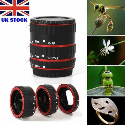 Auto Focus AF Macro Extension Tube Ring for Canon 1100D 700D 650D 600D 550D 5D