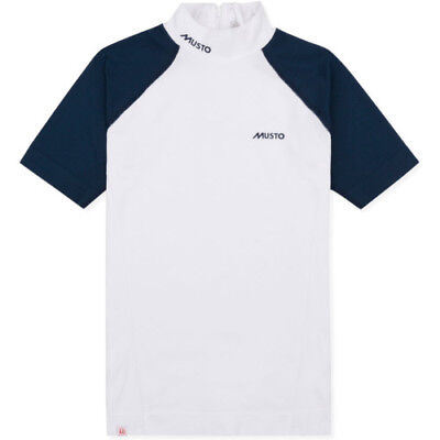 Musto 2017 Performance Stock Womens Shirt Competition - White True Navy