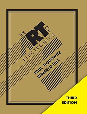 The Art of Electronics by Paul Horowitz & Winfield - Hardcover - 3 Days Delivery