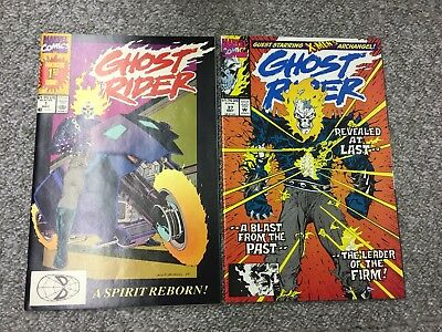 Ghost Rider #1 - 37 1St Appearance Daniel Ketch -  All Vf/nm 37 Issues - 1990