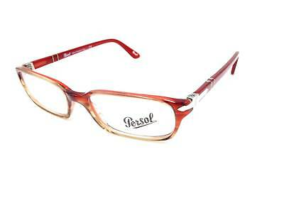 $350 PERSOL WOMENS Red Eyeglasses Frames Glasses Hand Made Italy ...