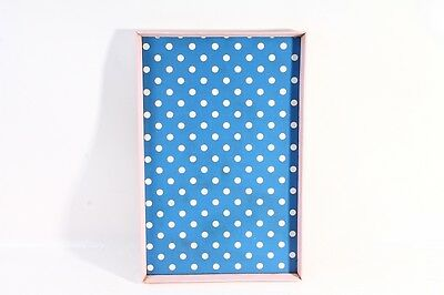 Old Tray Serving Tray Serving Tray 50er The 60er Pink Blue