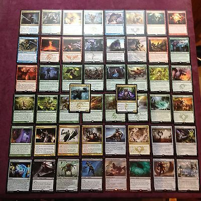 Lot of 50 different rares english (gold symbol) - MTG Magic the gathering