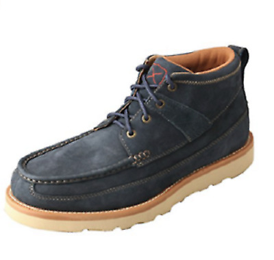 Twisted X Men's Softy Blue Casual Lace-Up Boot Shoes MCA0016 Leather New in Box