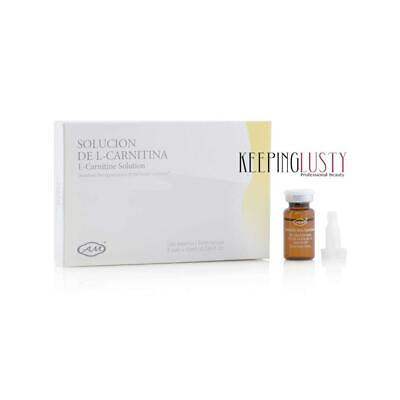 Armesso-A.M. L-Carnitine 5 x 10ml vials - Needle-Free Mesotherapy