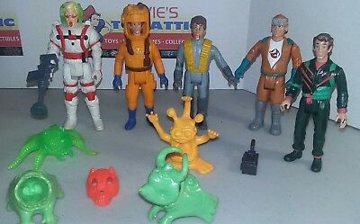 Vintage Kenner Real Ghostbusters Action Figure Lot fright Features & ghosts