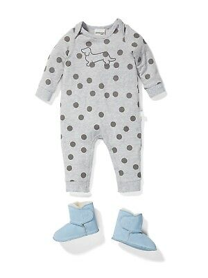 Peter Alexander Baby Full Length Spot Romper-Unisex Size 12 to 18 Months NWT