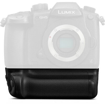 NEW Camera Battery Grip Pack Holder For Panasonic Lumix GH5 DSLR Cameras
