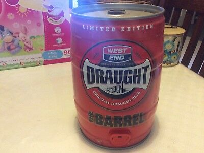 Limited edition west end draught 5 litre keg