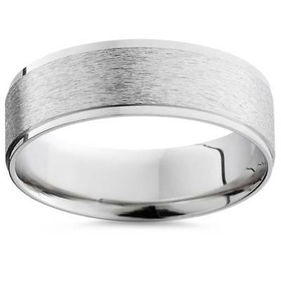 950 Palladium 6mm Mens Comfort Fit Brushed Wedding Band