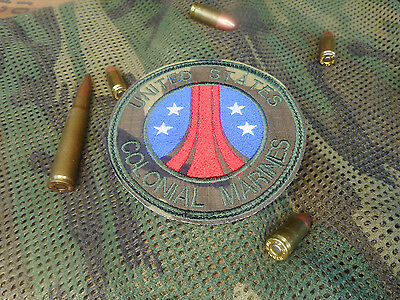 Uscm Us Colonial Marines Aliens Movie Novelty Morale Patch
