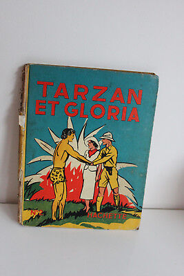 TARZAN ET GLORIA n°2 Collection HACHETTE 1937