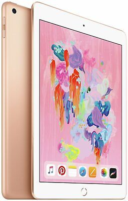 Apple iPad 2018 6th Gen 9.7 Inch 32GB WiFi iOS Tablet - Gold