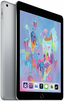 Apple iPad 2018 6th Gen 9.7 Inch 32GB WiFi Tablet - Space Grey.