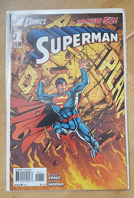 DC Comics New 52 Superman #1 1st Print - Bagged and boarded