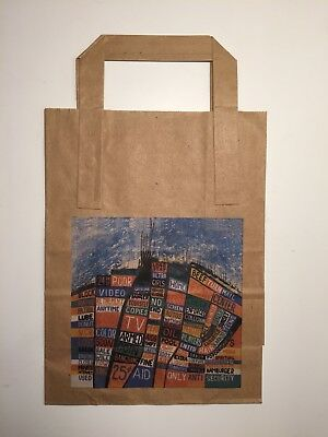 Radiohead Hail to the Thief paper carrier bag (unused) promo item rare 2003