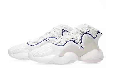 finest selection 6f560 8dd55 adidas Originals CRAZY BYW LVL 1 CQ0992 White Purple Boost You Wear Feet 8  s1