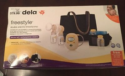 Medela Freestyle Hands-Free Double Electric Breast Pump  67060 Brand New In Box
