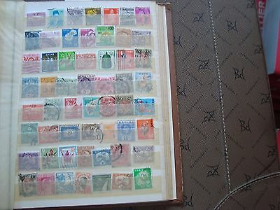ASIE - 56 stamps canceled (all state) stamp