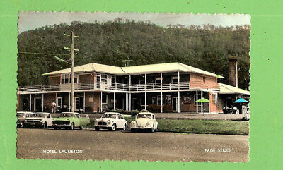 #G  POSTCARD OF HOTEL LAURIETON, ABOUT 1960s