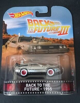 New 2018 Hot Wheels Back To The Future Iii 3 1955 Delorean Time Machine Hover 17