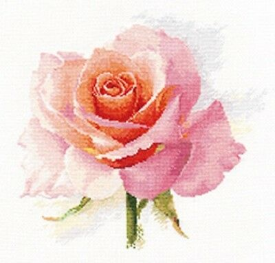 "Counted Cross Stitch Kit ALISA 2-40 - ""Breath of the Rose. Tenderness"""