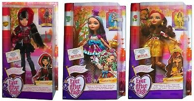 Mattel Ever After High Puppe Rosabella Beauty/Apple White/Darling Charming u.a.