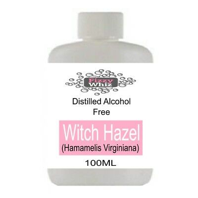 Witch Hazel - Pure Natural Distilled Alcohol Free Skin Toner Acne cuts bruise
