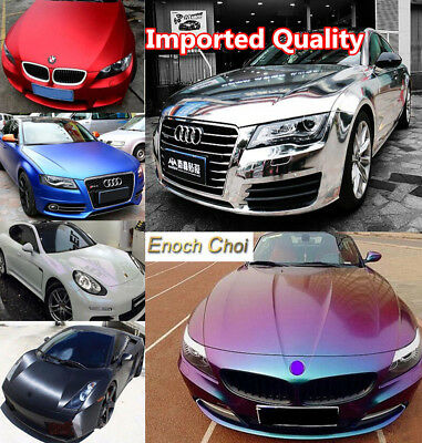 High Gloss 3D 5D 6D Carbon Fiber Matte Chrome Pearl Vinyl Car Wrap Film Sticker