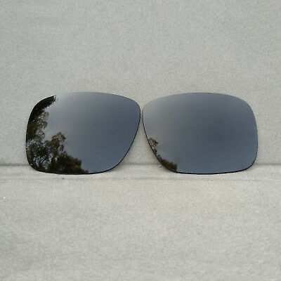 Black Polarized Replacement Lenses for-Oakley Holbrook Sunglasses