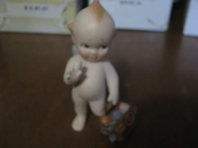 """The Franklin Mint """"PLAYING DOCTOR"""" Bisque Kewpie Doll with Box 1990"""