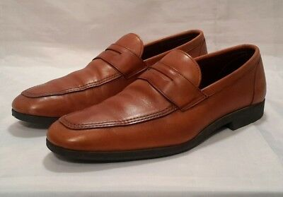 b9ee3c929c3 Allen Edmonds Men s Shoe Size 10.5 D Georgetown Brown Leather Penny Loafers  USA