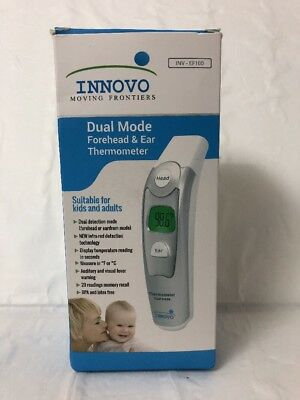 Innovo Dual Mode Forehead & Ear Thermometer INV-EF100
