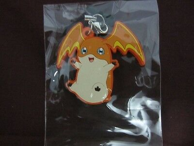 Patamon Rubber Phone Keychain Keyring Strap (Digimon Adventure tri Our War Game)