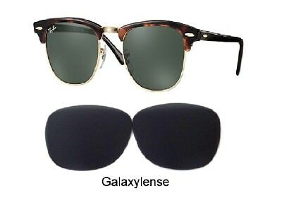 bd939b200b Galaxy Replacement Lenses For Ray Ban RB3016 Clubmaster Black 51mm  Sunglasses