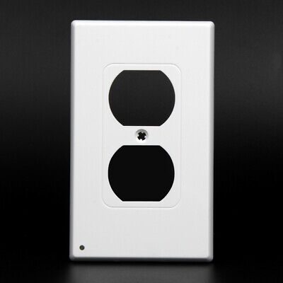 3 x Night Angel Wall Outlet Cover plate Plug Cover With LED Lights Bathroom