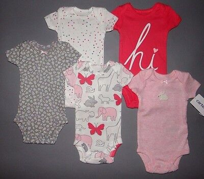 Baby girl clothes, Newborn, Carter's Little Baby Basics 5 piece set