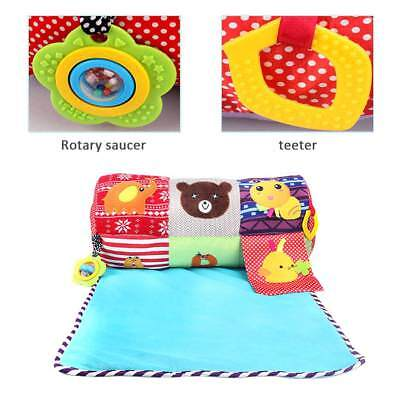 Baby Playmat Infant Game Play Mat Kids Crawling Rug Carpet Blanket w/ Safe Mirro
