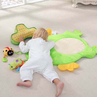 Cute Frog Plush Playmat Baby Summer Infant Crawling Mat Blanket Rug Carpet