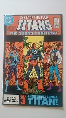 Tales Of The New Teen Titans # 44  Key 1St Appearance Nightwing Vf/nm  1984  Hot