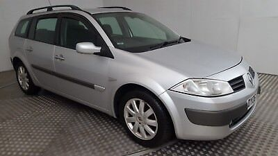 2006 renault megane dynamique dci 130 e4 silver 1 9 diesel. Black Bedroom Furniture Sets. Home Design Ideas