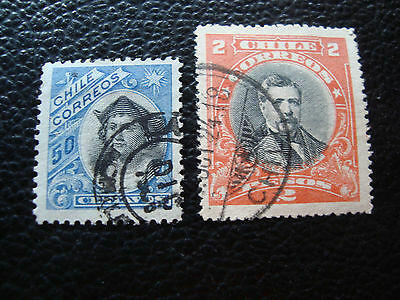 chile - stamp yvert and tellier n° 64 98 obl (A23) stamp chile