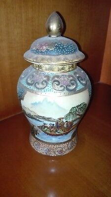 HAUNTED china vase pottery 1940 ANTIQUE ONLY SERIOUS BIDDERS