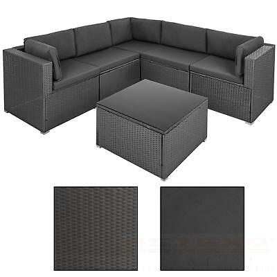 luxus polyrattan lounge sitzgruppe gartenm bel sofa xxl. Black Bedroom Furniture Sets. Home Design Ideas