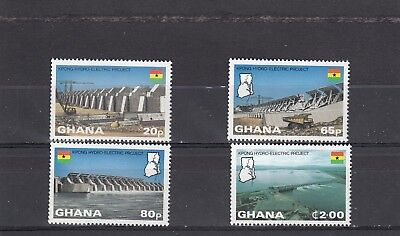 Ghana - Sg996-999 Mnh 1982 Kpong Hydro-Electric Project