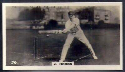 Lambert & Butler Overseas-Whos Who In Sport-#36- Cricket - Jack Hobbs
