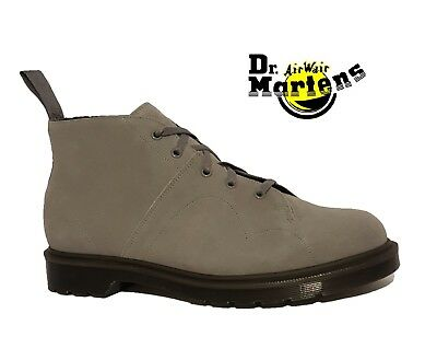 Dr Martens Church Grey Suede Leather Desert Chukka Boots Water Resistant Uk 10